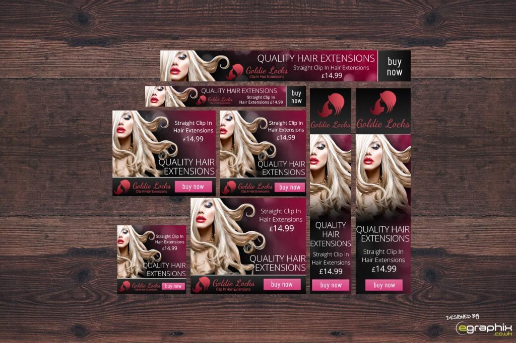 Goldie Locks Banner Ads