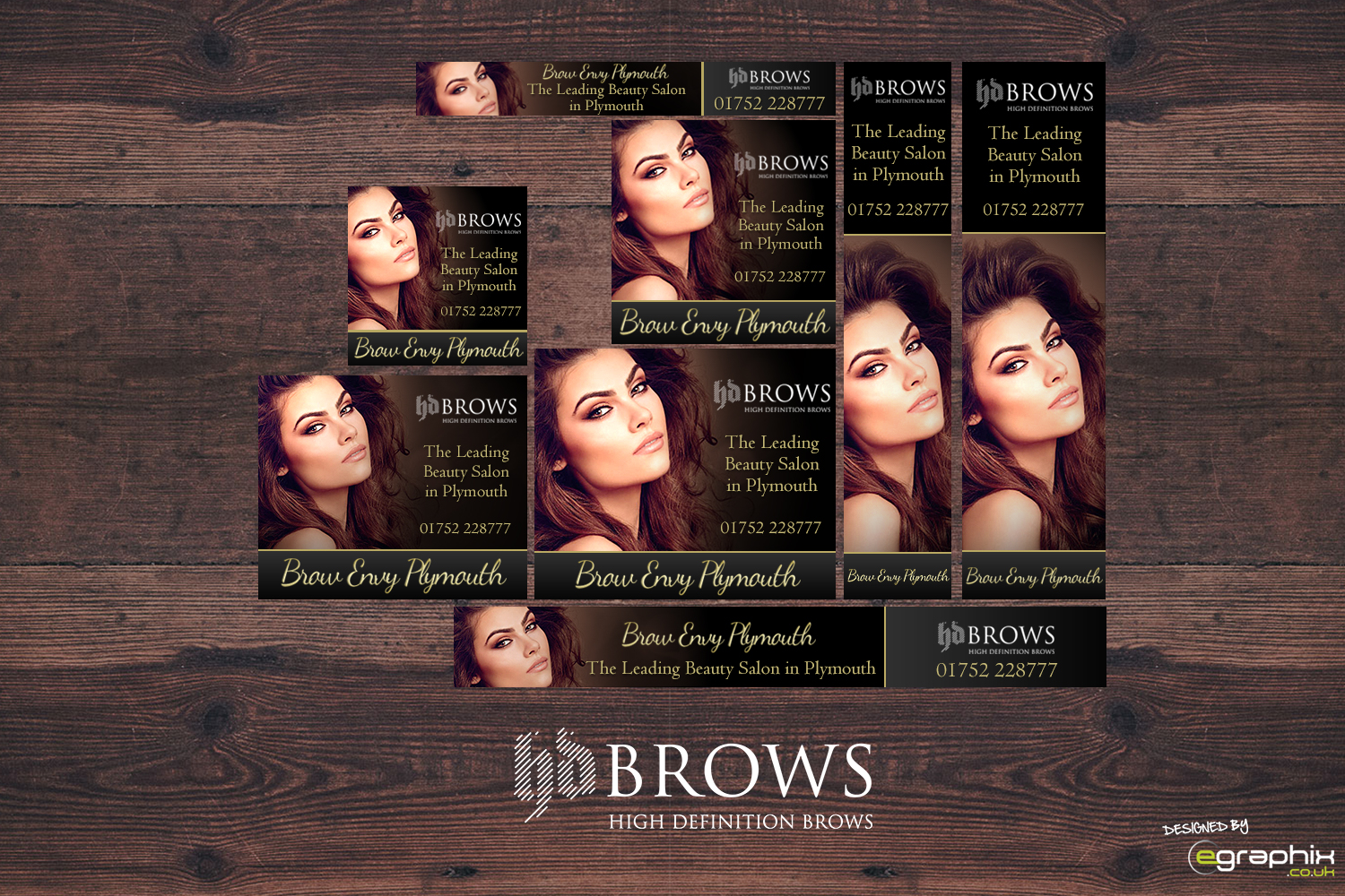 HD Brows Plymouth Remarketing Ads