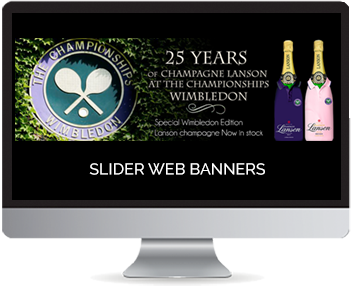 web slider banners
